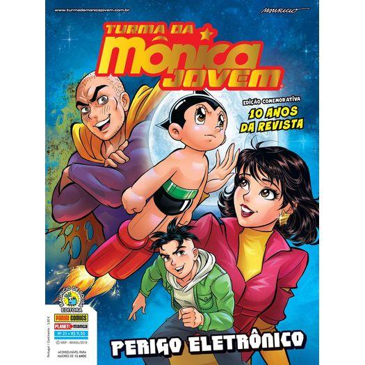 Turma da Monica Jovem 21 - Serie 2 - Panini