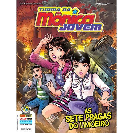 Turma da Monica Jovem 10 - Serie 2 - Panini