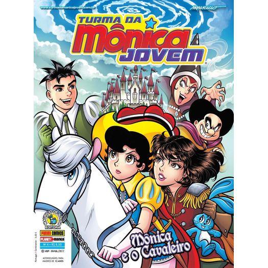 Turma da Monica Jovem 4 - Serie 2 - Panini