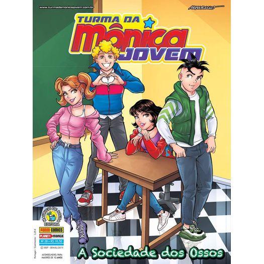 Turma da Monica Jovem 28 - Serie 2 - Panini