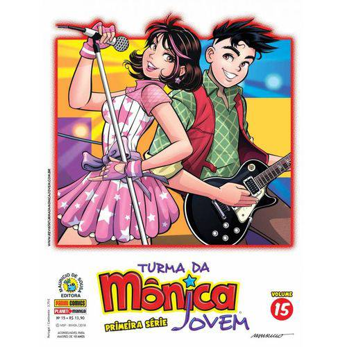 Turma da Mônica Jovem - Primeira Série - Vol. 15