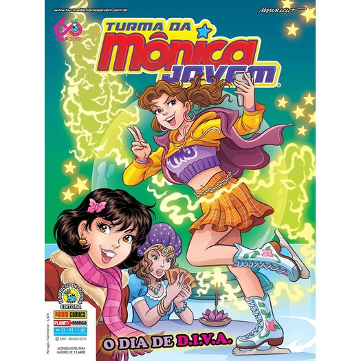 Turma da Monica Jovem 33 - Serie 2 - Panini