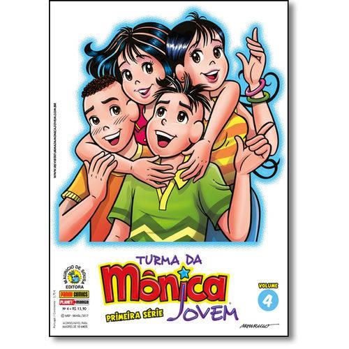 Turma da Mônica Jovem - Vol.4 - Primeira Série
