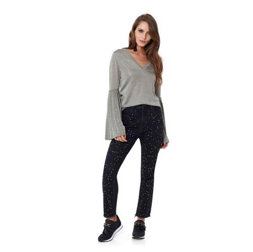 TVZ   Calça Jeans Black Cristais - 36