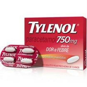 Tylenol Star Power 750mg 4cpr