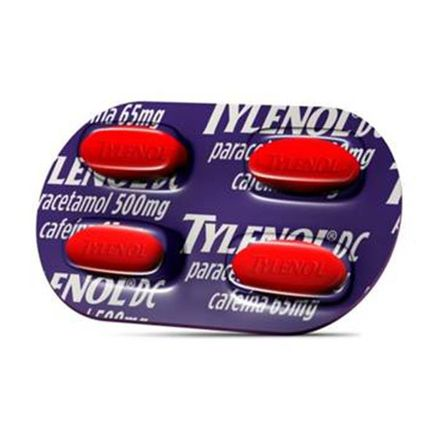 Tylenol DC 4 Comprimidos