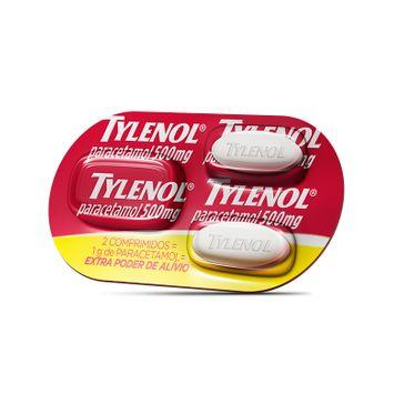 Tylenol Star Power 500mg 2cpr