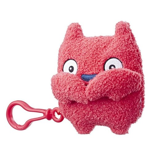 Ugly Dolls - Chaveiro Pelúcia - Lucky Bat (vermelho) E4534 - HASBRO