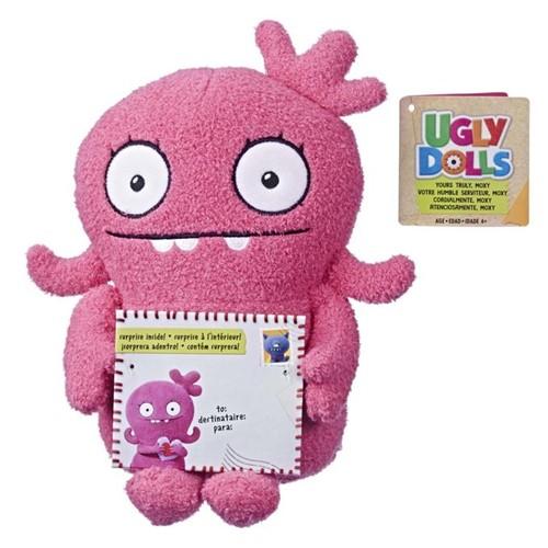Ugly Dolls - Pelúcia Básica - Moxy (rosa) - HASBRO
