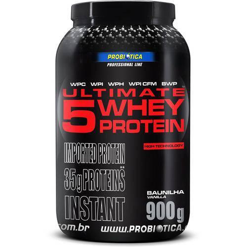 Ultimate 5 Whey Protein Baunilha 900g - Probiótica
