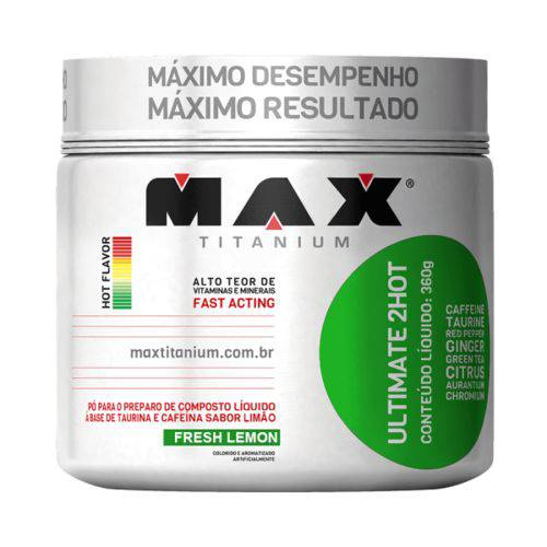 Ultimate 2HOT 360G - LIMÃO - Max Titanium