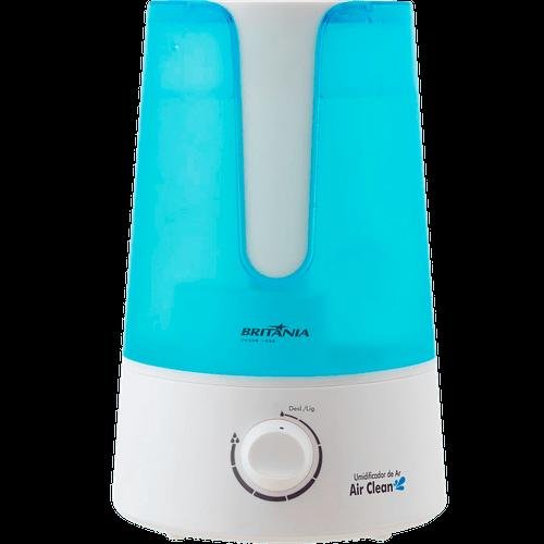 Umidificador de Ar Britânia, Air Clean, 3.2 Litros, Silencioso - 65503014 - Bivolt