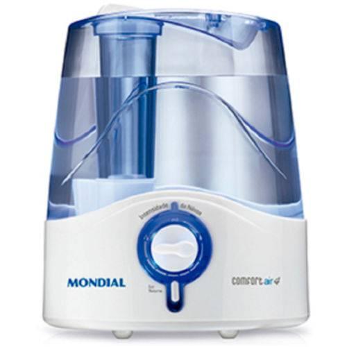 Umidificador Mondial Confort 4 Litros - 1410-02 Branco / Azul 220 Volts