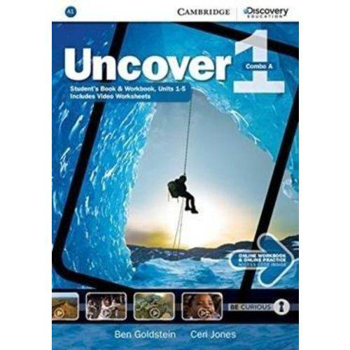 Uncover 1A Combo - Student Book With Work Book And Online Practice