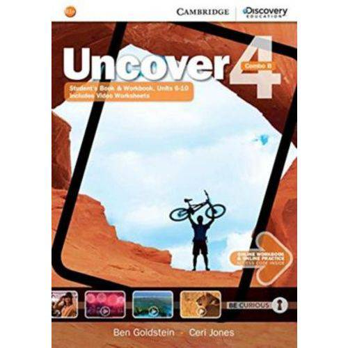 Uncover 4b Combo Sb With Online Wb And Online Practice - 1st Ed