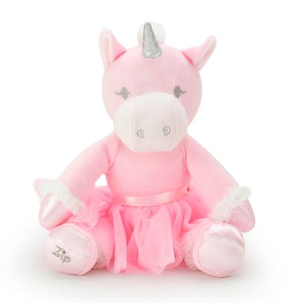 Unicórnio Bailarina - Rosa - Zip Toys