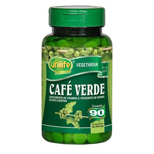 Unilife Cafe Verde 90 Comprimidos