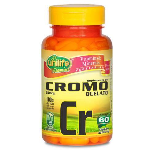 Unilife Cromo Quelato Cr 60 Caps
