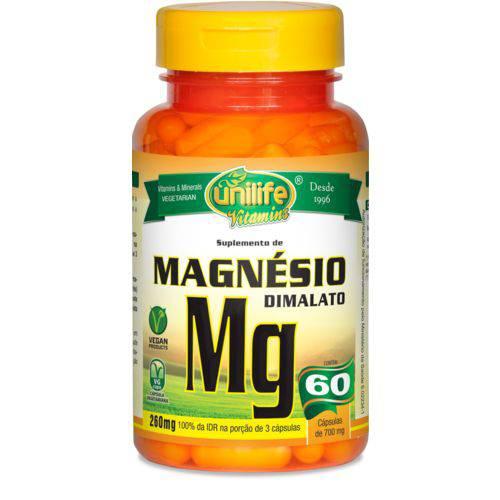 Unilife Magnesio Dimalato 600mg 60 Caps