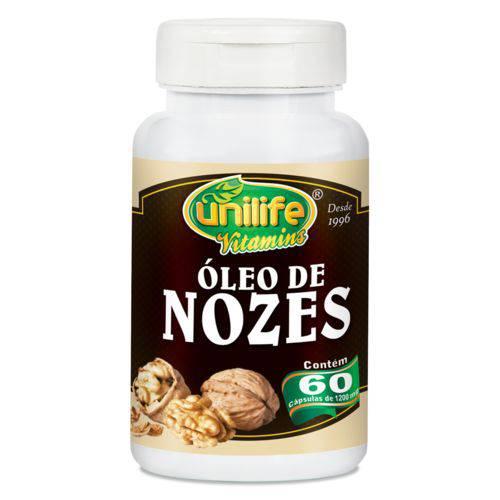 Unilife Oleo de Nozes 60 Caps