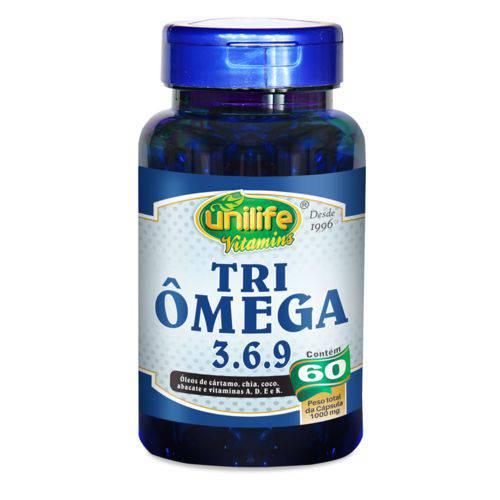 Unilife Tri Omega 3-6-9 60 Caps