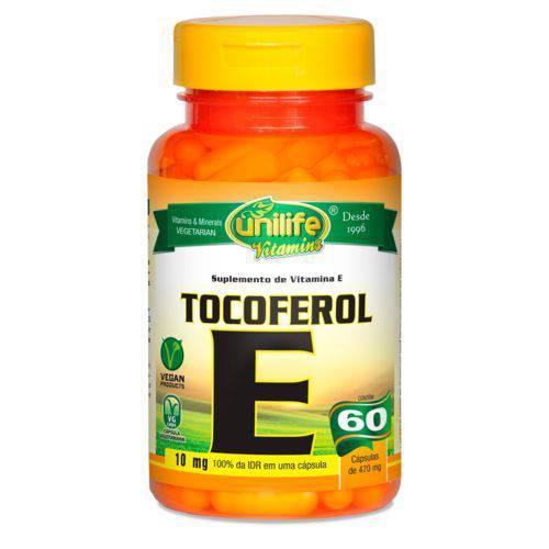 Unilife Vitamina e Tocoferol 60 Caps