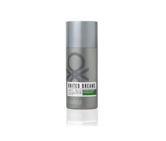 United Dreams Desodorante Aim High Benetton Masculino 150 Ml