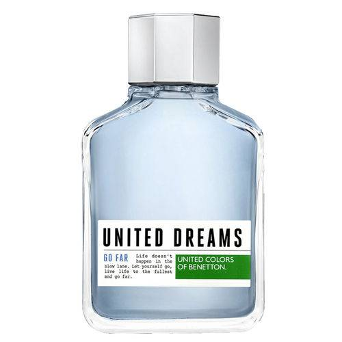 United Dreams Go Far Benetton - Perfume Masculino - Eau de Toilette
