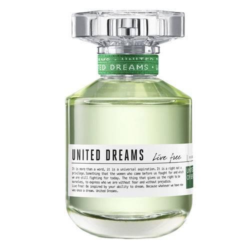 United Dreams Live Free Benetton - Perfume Feminino - Eau de Toilette