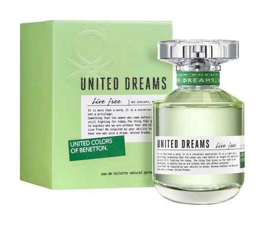 United Dreams Live Free By Benetton Feminino Eau de Toilette 50ml