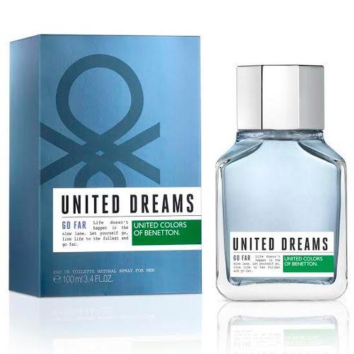 United Dreams Men Go Far Benetton Eau de Toilette Masculino 60 Ml