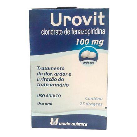 Urovit 100mg 25 Comprimidos