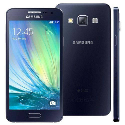 Usado: Galaxy A3 16gb Duos A300m/ds - Preto