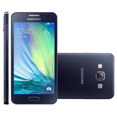 Usado: Galaxy A3 Duos Samsung 16GB Preto