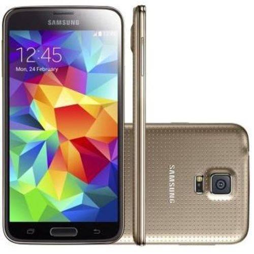 Usado: Galaxy S5 Samsung 16GB Dourado