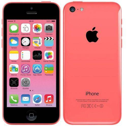 Usado: Iphone 5c Apple 8gb Rosa
