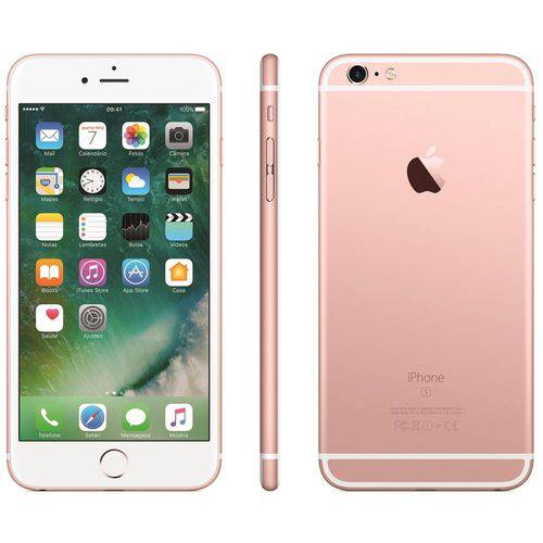 Usado: Iphone 6S Plus Apple 64GB Rosa
