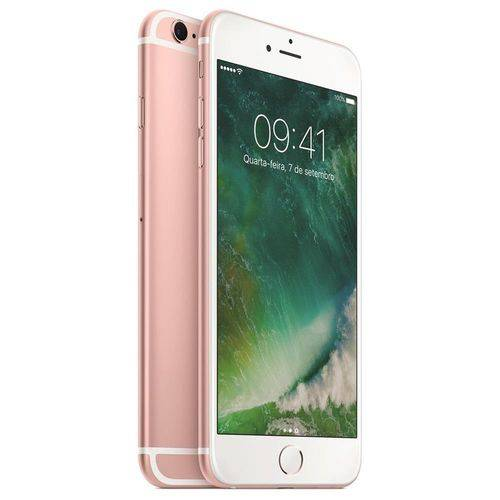 Usado: Iphone 6s Plus Apple 128gb Rosa