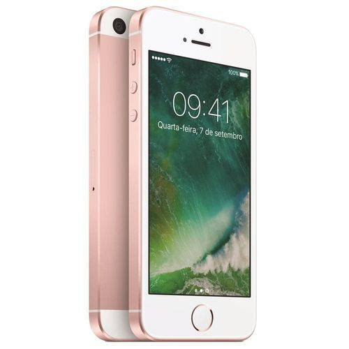 Usado: Iphone se Apple 32gb Rosa