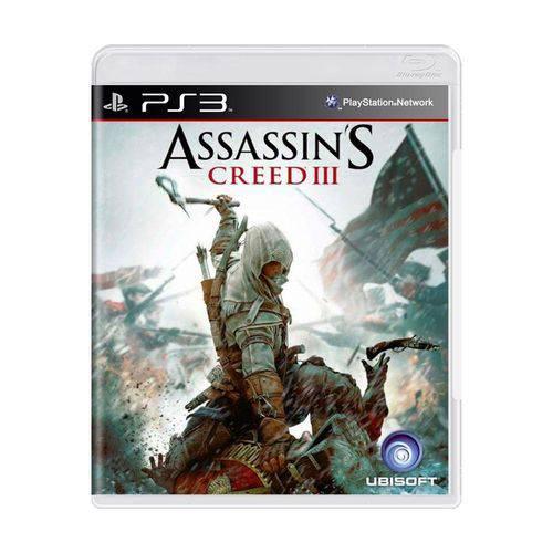 Usado: Jogo Assassin's Creed Iii - Ps3