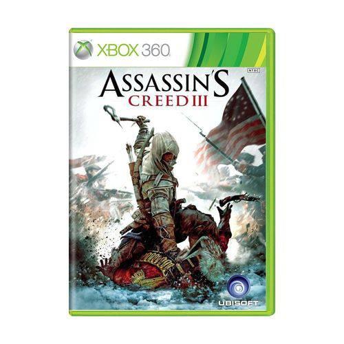 Usado: Jogo Assassin's Creed Iii - Xbox 360