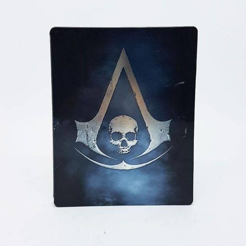 Usado: Jogo Assassin''s Creed Iv: Black Flag (steelcase) - Ps3