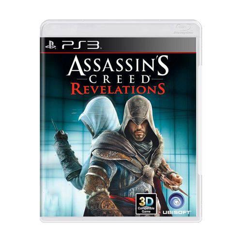 Usado: Jogo Assassin's Creed Revelations - Ps3