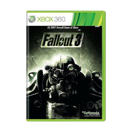 Usado: Jogo Fallout 3 - Xbox 360