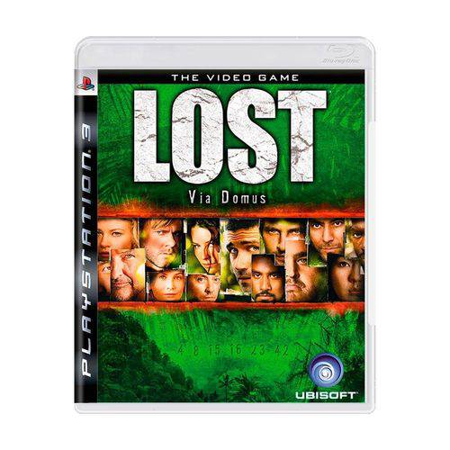 Usado: Jogo Lost: Via Domus - Ps3
