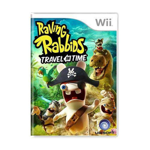 Usado: Jogo Raving Rabbids: Travel In Time - Wii