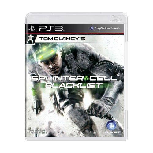Usado: Jogo Tom Clancy''s Splinter Cell: Blacklist - Ps3