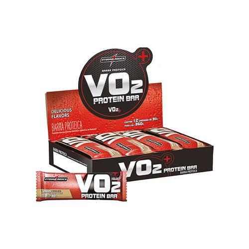 V02 Protein Bar 12 Unidades Cookies V2 Integralmedica 30g (Barra)