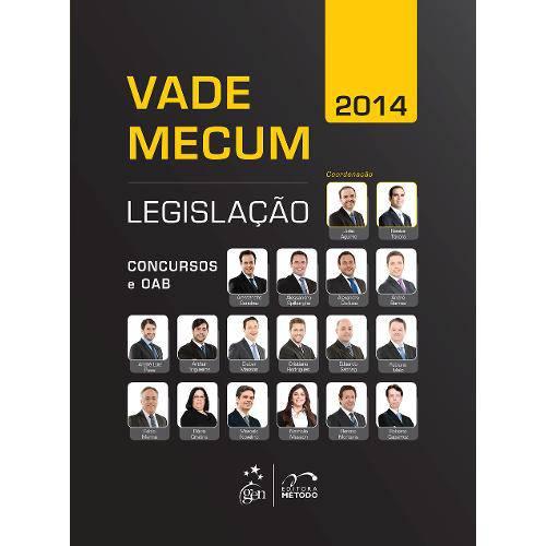Vade Mecum 2014 Legislação Concursos e Oab