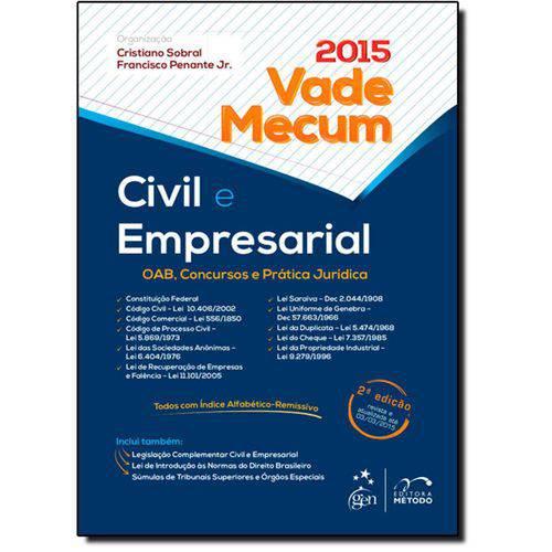 Vade Mecum Civil e Empresarial - 2015